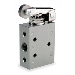 Ingersoll-Rand - M211RS - 1/8 Manual Air Control Valve with 4-Way, 2-Position Air Valve Type