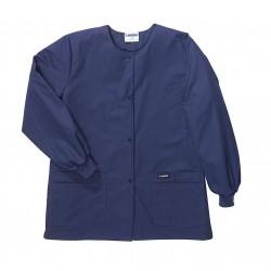 Landau Uniforms - 7525BNP XXXL - Warm up Jacket, 3XL, Navy, Womens