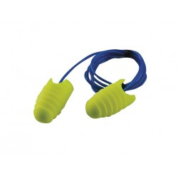 3M - 312-6001 - 31dB Disposable Tapered-Shape Ear Plugs; Corded, Yellow, L