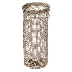 "Justrite - 11007 - Justrite 1 1/4"" X 6"" Silver Stainless Steel Flame Arrester (For Safety Container)"