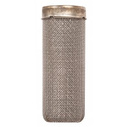 Justrite - 11400 - Justrite 1 2/5' X 3 1/2' Silver Stainless Steel Flame Arrester (For Type I Poly Safety Cans), ( Each )