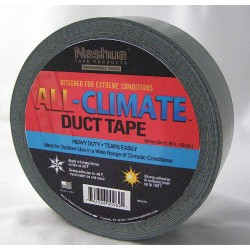 Nashua Tape - 675003 - 48mm x 55m Duct Tape, Black