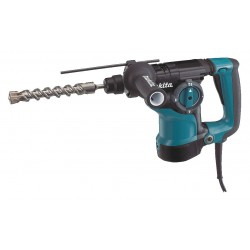 Makita - HR2811F - SDS Plus Rotary Hammer Kit, 7.0 Amps, 0 to 4500 Blows per Minute, 120 Voltage