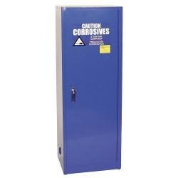 Eagle Mfg - CRA-1923 - Eagle CRA-1923 Space Saver Acid Storage Cabinet, Manual-Latching Door, 24 Gallon