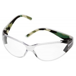 Body Glove - 90217 - V-Line Plano Scratch-Resistant Safety Glasses, Clear Lens Color