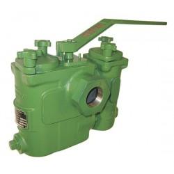 Mueller Steam Specialty - 11/2 791 S-AH CI DUPLEX STRAINER THD - 1-1/2 Duplex Strainer, Threaded, .062 Mesh, 10 Length, Cast Iron