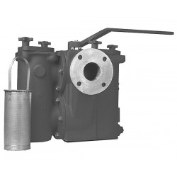 Mueller Industries - 2 791F-AH CI DUPLEX STRAINER FLGD - 2 Duplex Strainer, Flanged, .062 Mesh, 11 Length, Cast Iron