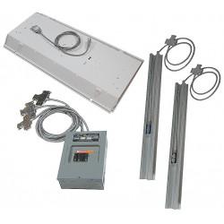 Porta-King - MODKITVK1-8X8 - Modular Electric Kit, Pre-Wired, Size 8x8