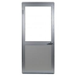 Porta-King - HDDVK1 - Swing Door, H 80 In, W 36 In, w/Vision Lite