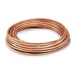 Mueller Industries - 617F - 60 ft. Soft Coil Copper Tubing, 1/2 Outside Dia., 0.430 Inside Dia.