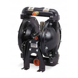Ingersoll-Rand - 650717-C - Aluminum Viton Single Double Diaphragm Pump, 29 gpm, 50 psi