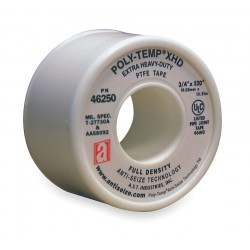 Anti-Seize - 46250 - 3/4W PTFE Thread Sealant Tape, White, 520 Length
