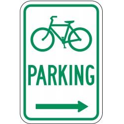 Lyle Signs - D4-3R-12HA - Parking, No Header, Aluminum, 18 x 12, High Intensity Prismatic
