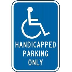 Lyle Signs - HC-018-12HA - Parking, No Header, Aluminum, 18 x 12, High Intensity Prismatic