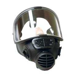 Scott / Tyco - 013024 - Bayonet Connection Low Maintenance Full Face Respirator, 5 Point Suspension, M/L