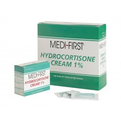 Medique - 21135 - Hydrocortisone Packets, Cream, Box, Wrapped Packets, 0.030 oz.