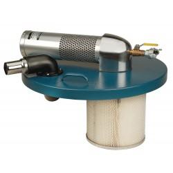 Nortech - N551B - Pneumatic Vacuum , Air Flow 89 cfm, std.
