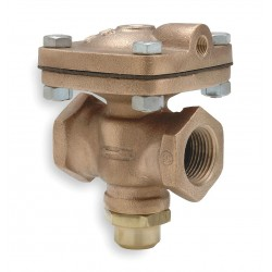 Pentair - D-53 - 3-1/2 x 5-7/8 x 6-3/8 Air Operated Valve Normally Closed, 1 Orifice Dia., 12 Coefficient of Volu