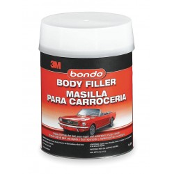 Bondo - 265 - Body Filler W Hardener, Paste, 1 Gal, Gray