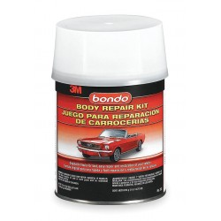 Bondo - 312 - Auto Body Filler Kit, Paste, 1 Qt, Gray
