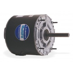 A.O. Smith - 9723 - 1/4 to 1/6 HP Condenser Fan Motor, Permanent Split Capacitor, 1075 Nameplate RPM, 208-230 Voltage, Frame