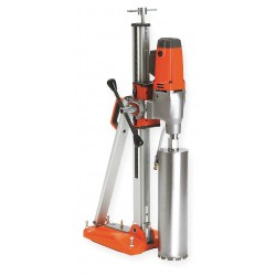 Husqvarna - DMS 240 - Diamond Coring Rig, 19.3 Amps @ 120V, 2.9 Motor HP, 390/890 No Load RPM