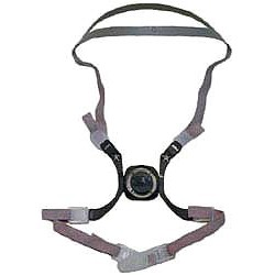 3M - 6281 - Respirator Replacement Head Harness 6000 Series Half Mask 3m, Ea