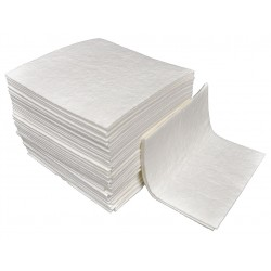 Safety Solutions - 151050 - 18 x 18 Heavy Absorbent Pad for Universal, White, 100PK
