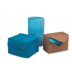 Safety Solutions - 18463B (M-90) - Oil-Based Liquids Absorbent Roll, Heavy, Polypropylene, 150 ft., 1EA