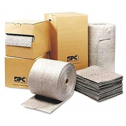 Brady - MRO350 - Medium, 3 Ply Absorbent Roll, Fluids Absorbed: Universal / Maintenance, 150 ft. Length