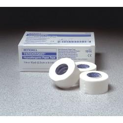 Covidien - KTPT019914 - Paper Tape, White, 1 In. W, 10 yd. L, PK12