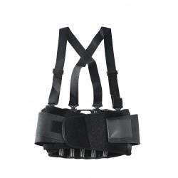 OK-1 - OK-200S-2X - Nylon Back Support 2XL, 8 Width Fits Waist Size 46 to 56, Black