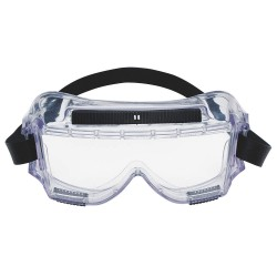 3M - 40304-00000-10 - Uncoated Chemical Splash Goggles, Clear Lens Color