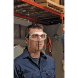3M - 40658-00000-10 - Anti-Fog Protective Goggles, Clear Lens Color