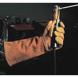 Steiner Industries - 02209-L - Welding Gloves, L, 14 In. L, Shoulder, PR