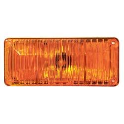 PSE Amber - 41AH - Perimeter Light, Halogen, Amber, Rect, 7 L