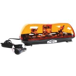 PSE Amber - 420AMH - Amber Mini Lightbar, Strobe Lamp Type, Magnetic Mounting, Number of Heads: 2