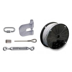 Sound Seal - BHK - Baffle Hanging Kit, Stranded Cable and Metal Components, 1 EA