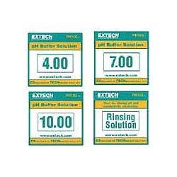 Extech Instruments - PH103 - Extech PH103 Tripak buffers (6 ea. of 4, 7, 10 pH & 2 rinsing solutions)