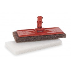 "3M - 6472 - Orange Swivel Pad Holder, Length 9"", Width 3-3/4"", 1 EA"