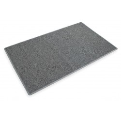 "3M - 26464 - 3M Anti-Slip Entryway Heavy Traffic Scraper Mat, 3'W x 5'L x 1/2""Thick, Gray , EA"