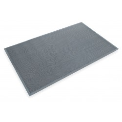 "3M - 20237 - 3M Anti-Slip Entryway Medium Traffic Scraper Mat, 4'W x 6'L x 1/4""Thick, Black , EA"