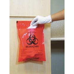 Other - MRWB142316 - 1.4 qt. Red Biohazard Bag, Super Heavy Strength Rating, Flat Pack, 100 PK