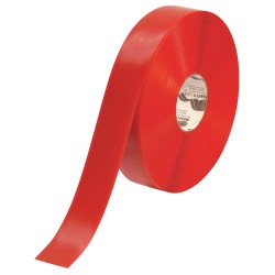 Mighty Line - 2RR - Floor Marking Tape, Solid, Continuous Roll, 2 Width, 1 EA
