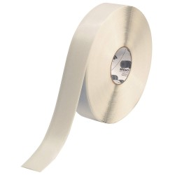 Mighty Line - 2RW - Floor Marking Tape, Solid, Continuous Roll, 2 Width, 1 EA