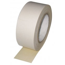 Other - 3UAV4 - 2 x 36 yd. Crepe Paper Double Sided Tape, 6 mil, White, 1EA