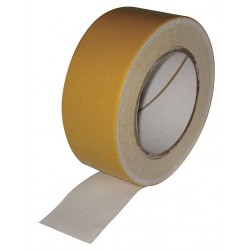 Other - 3UAV6 - 2 x 75 ft. Cotton Cloth Double Sided Tape, 10 mil, White, 1EA