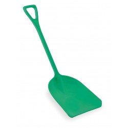 Remco - 69822 - Hygienic Shovel, Green, 14 x 17 In, 42 In L