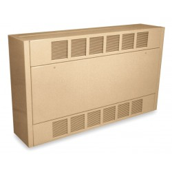 QMark / Marley - CUS93505243FF - Electric Cabinet Unit Heater, Wall, Ceiling, or Floor, 240VAC, Amps AC 22.00/14.00, 1 or 3 Phase