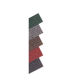 Notrax - 117S0048CH - Charcoal Needle-Punched Yarn, Entrance Runner, 4 ft. Width, 8 ft. Length
